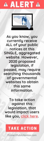 Florida Public Notice Alert